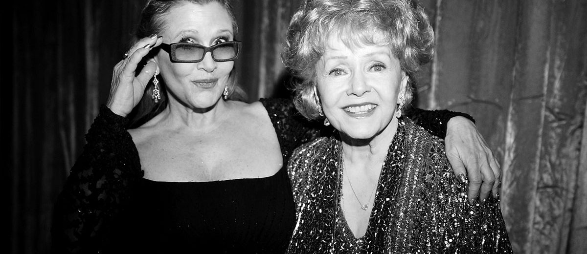 RIP+Carrie+Fisher+and+Debbie+Renyolds